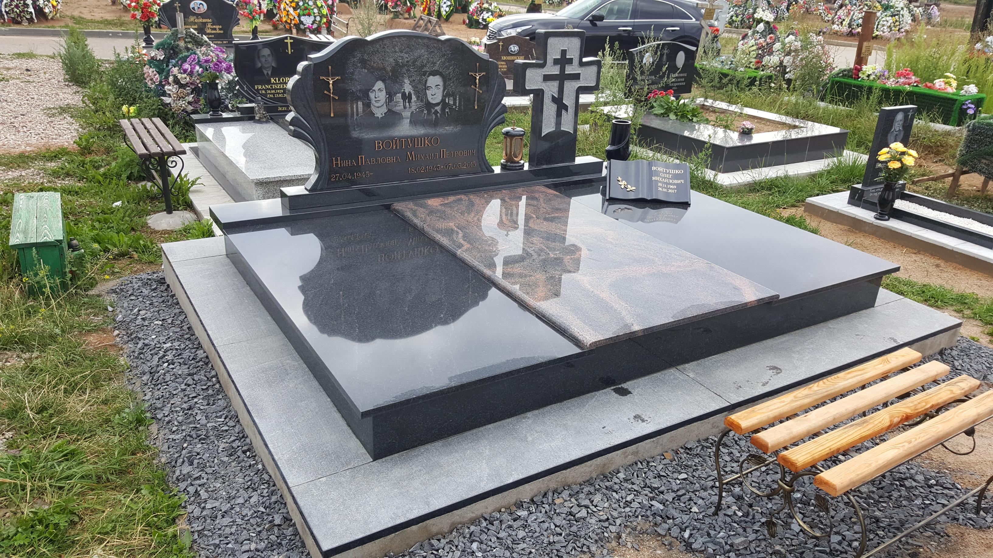 Реконструкция памятников. Реконструкция могил.