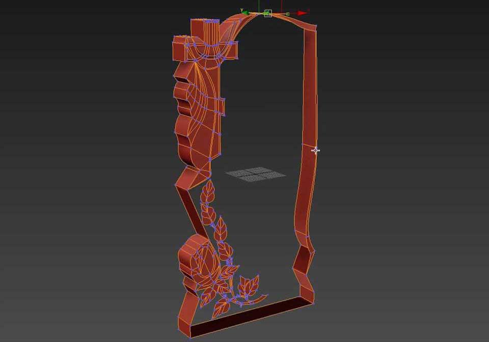 3D моделирование надгробий